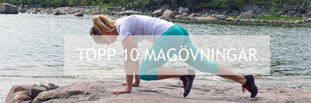Magträning: Mina topp 10 magövningar för en stark mage inifrån ut