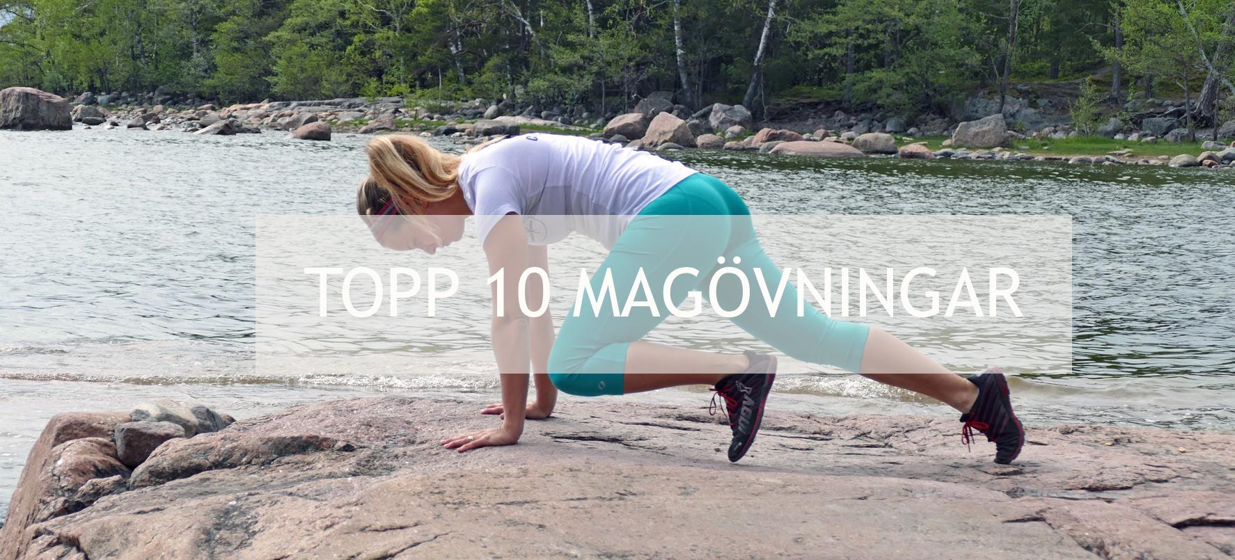topp 10 magövningar