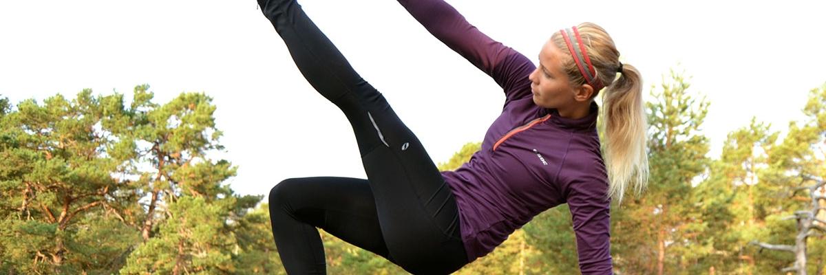 Tabata-träning med egen kroppsvikt för kondition och styrka