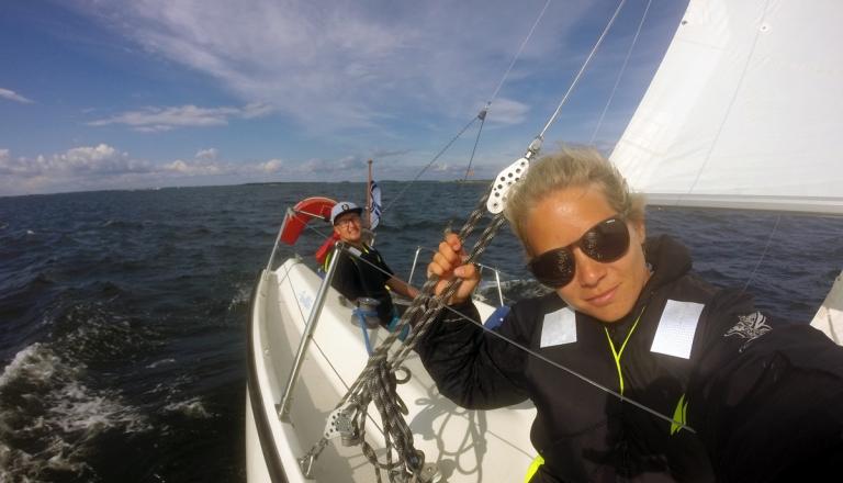 Video: En helg med segling, solsken, vänner och löpning