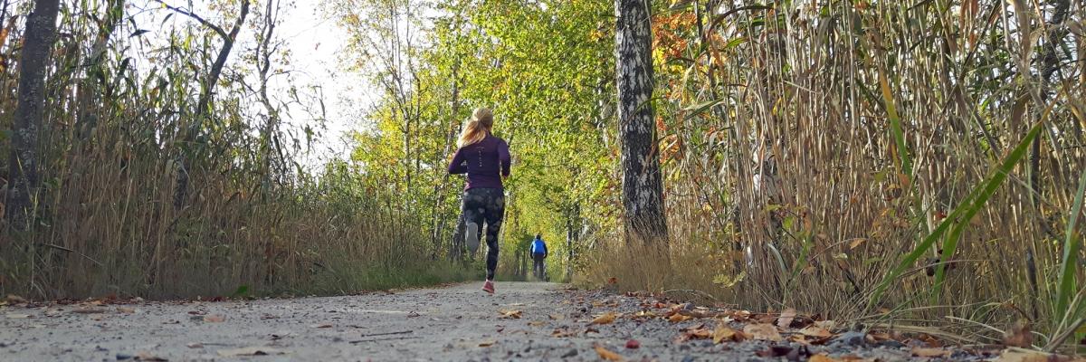 Löpning, meditation och livsglädje