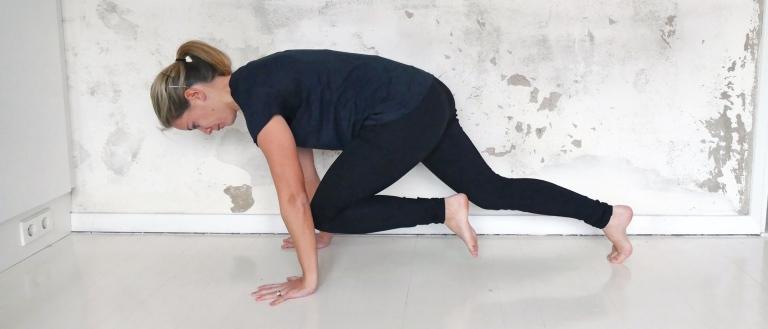 Lucka 18: Skön rörlighetsträning för rygg och höft