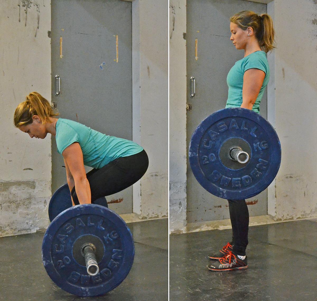 träna kroppens baksida