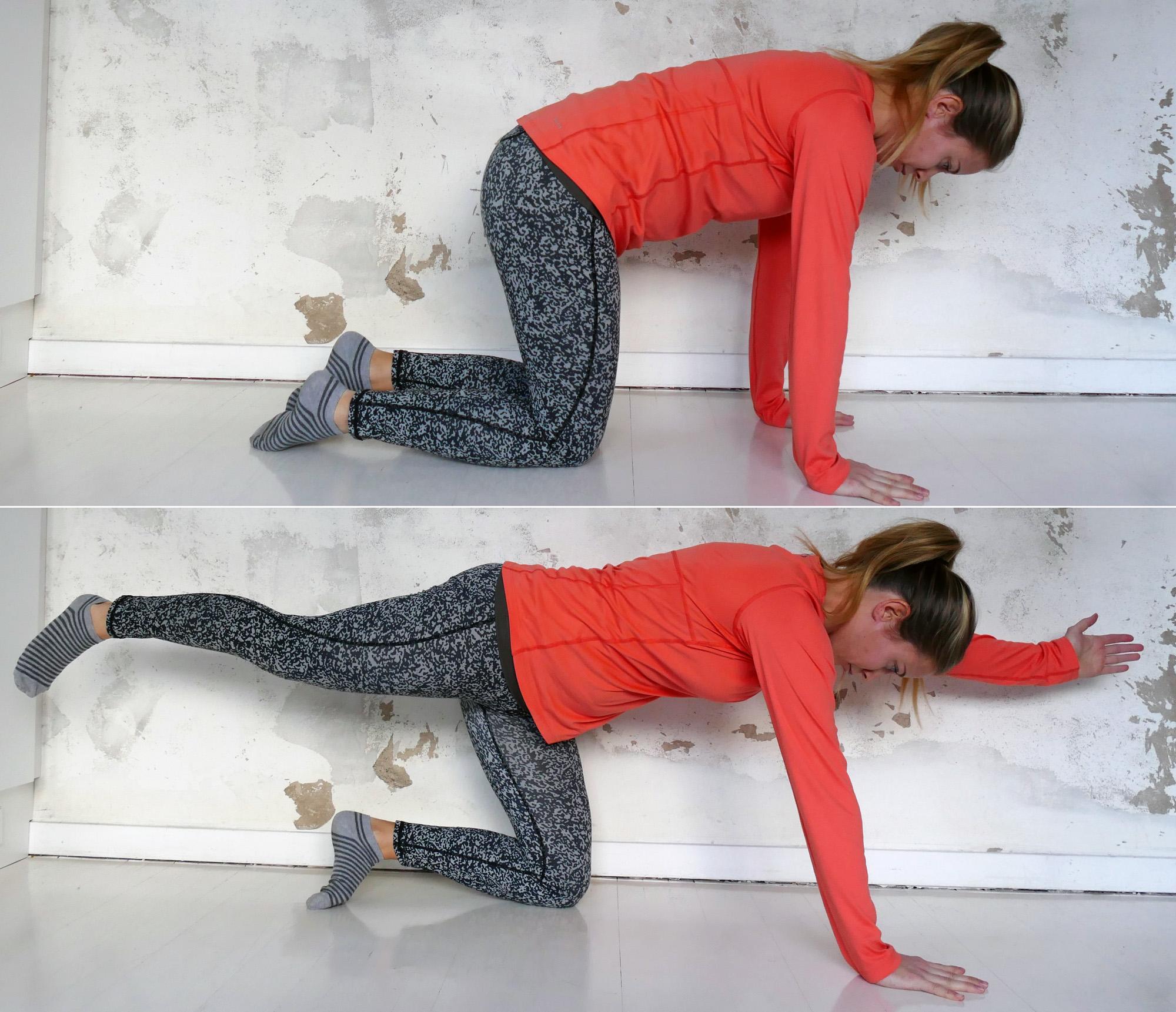bra träning gravid