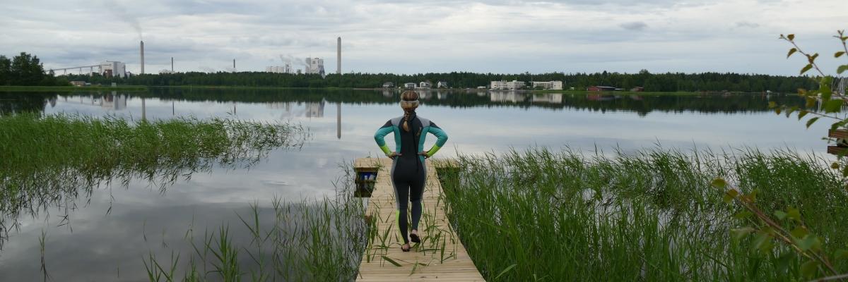 Lära dig simma i sommar?