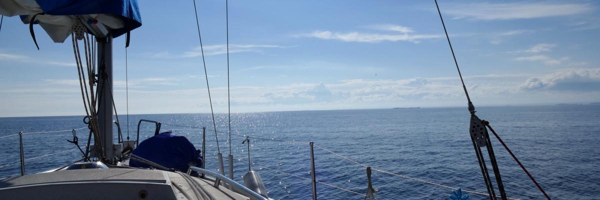 Segling från Jakobstad till Höga kusten