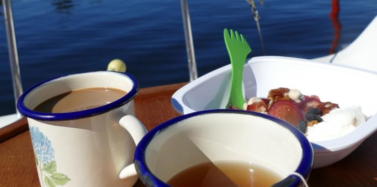 Bra båtmat/utflyktsmat: enkla mellanmål och luncher/middagar