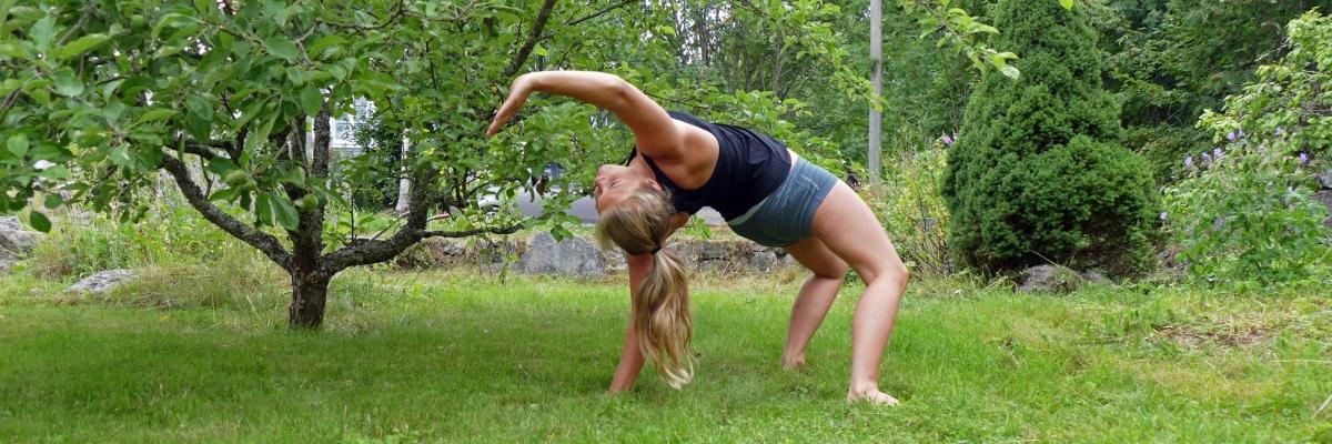 Tips på enkel kroppviktsträning i film (för corestyrka och rörlighet)