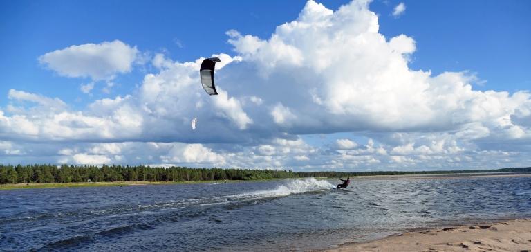 Kitesurfing i Lohtaja – Dagen jag drömt om!