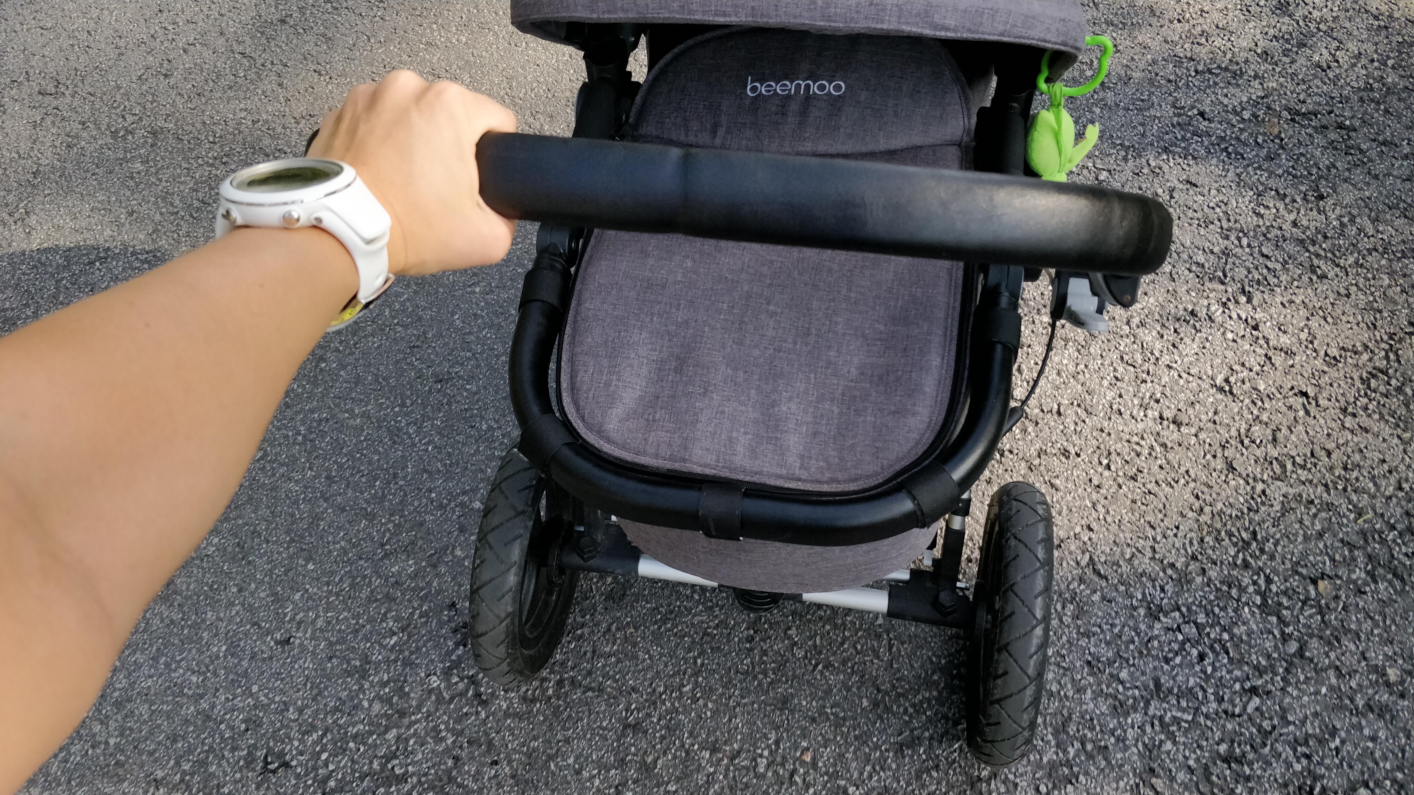 Träning barnvagn
