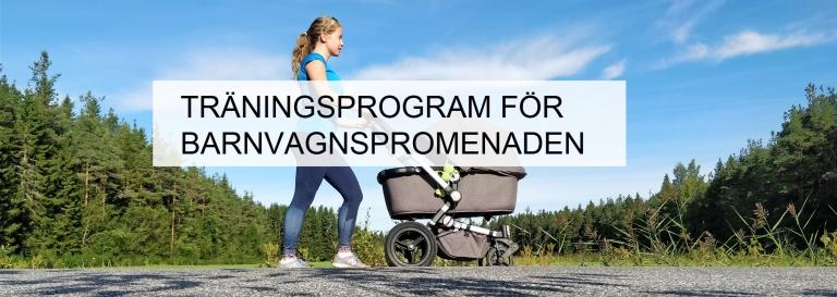 Träningsprogram för barnvagspromenader – 3 bästa övningarna