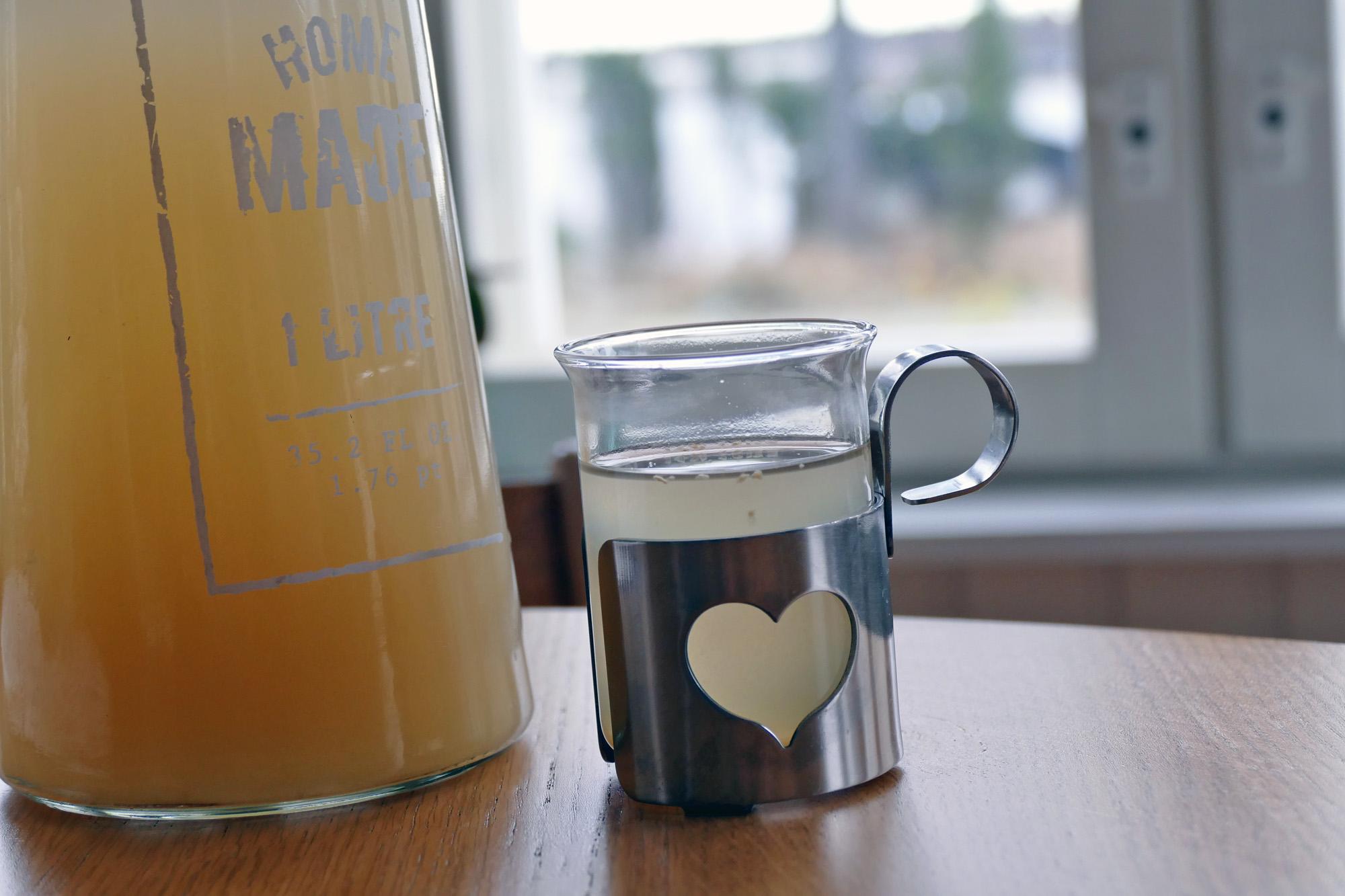 hälsoshot recept ingefära citron