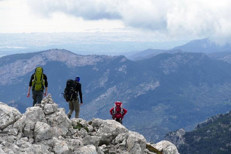 Vandra på Mallorca: Vår tur upp till Puig de Massanella