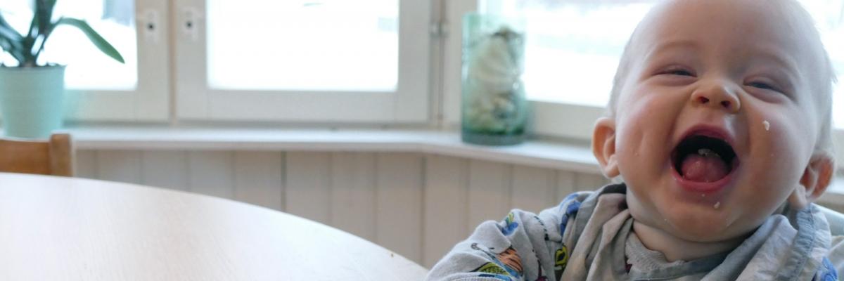 Potatis- och avokadoplättar till bebis (och mig själv)