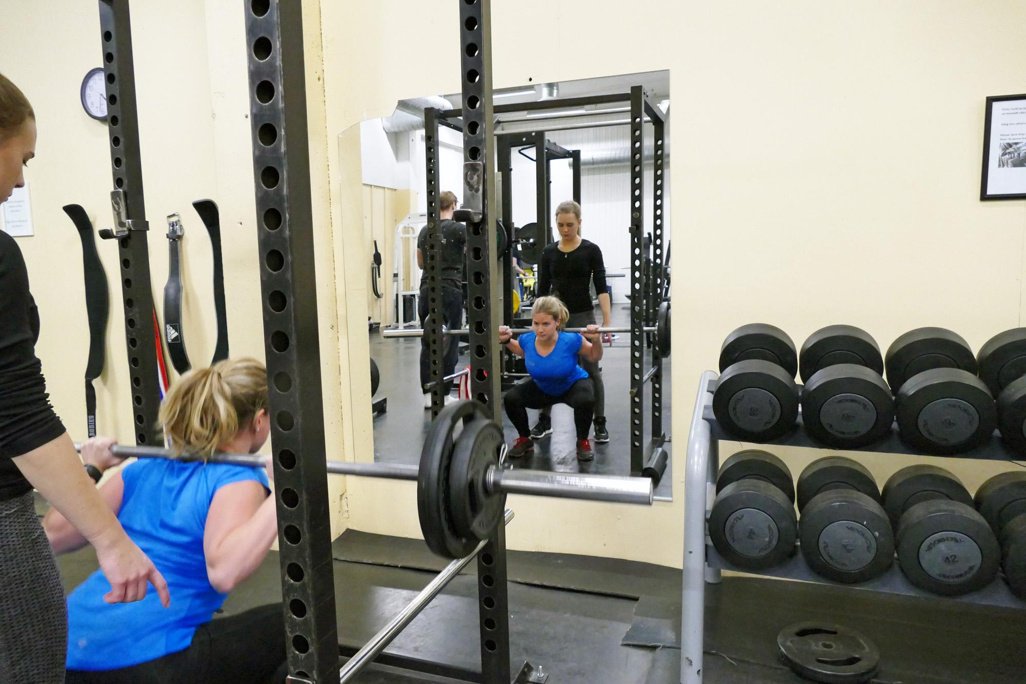 knäböj svåra styrketräning