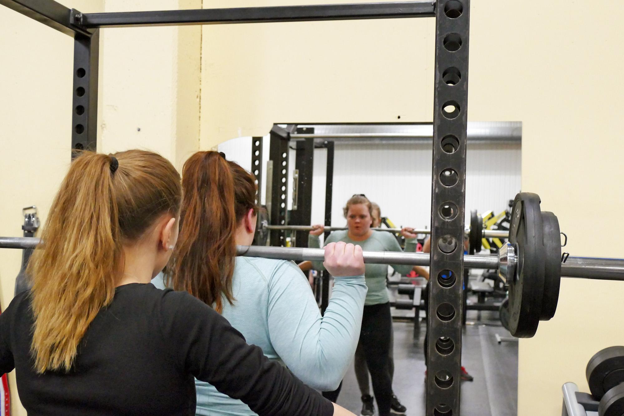 knäböj svårt styrketräning