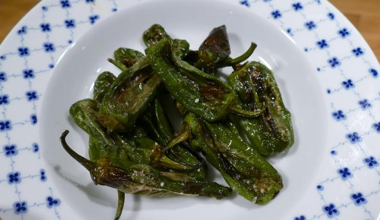 Tips på gott (och hälsosamt) snacks: Pimientos de Padron
