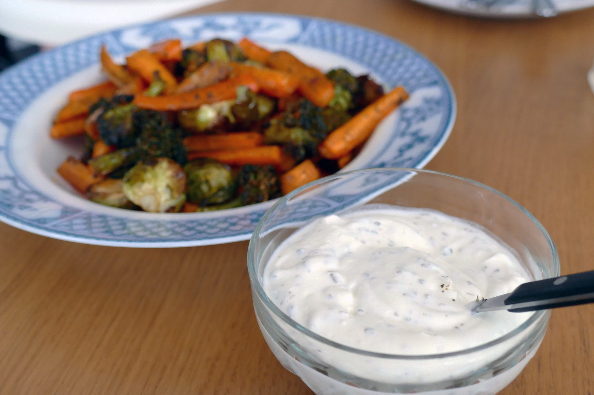 örtyoghurt recept