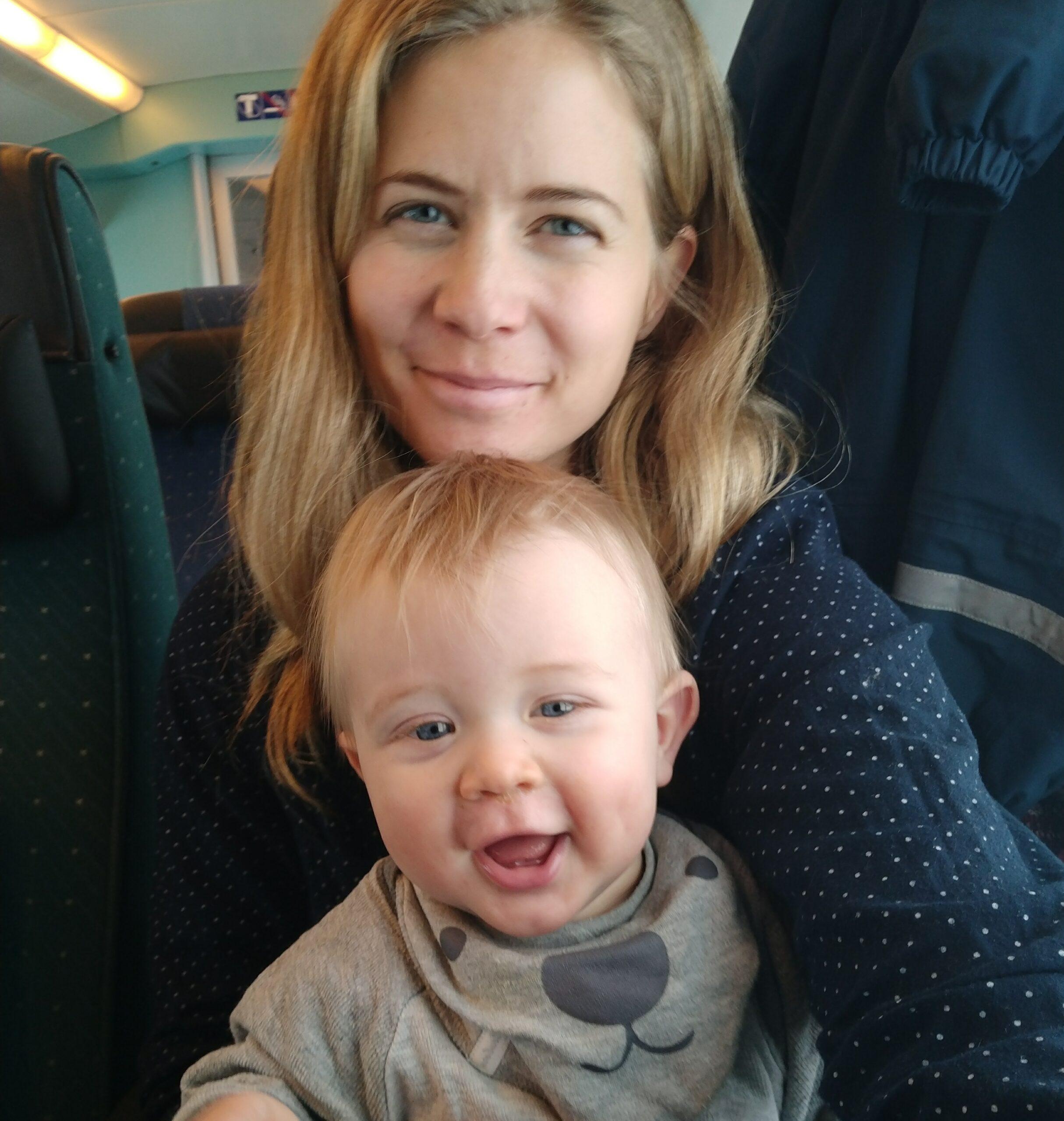 Resa ensam med 10 månaders bebis till mallorca