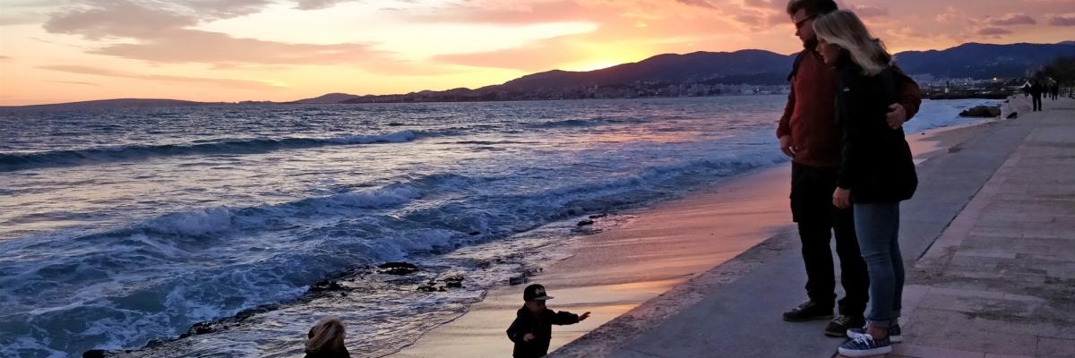 Mallorca-resan som svängde från botten till toppen