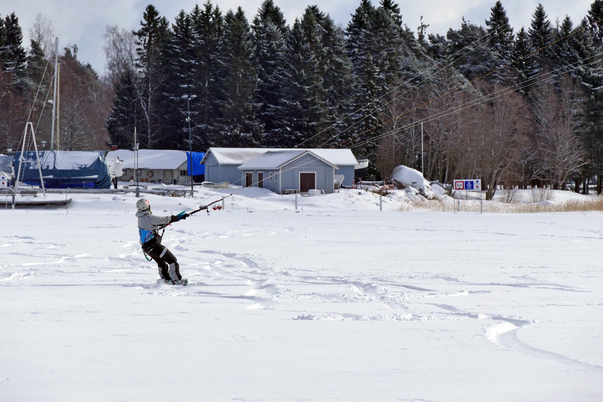 snowkite hemma