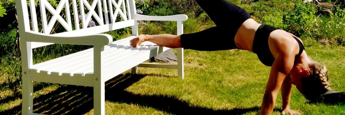 Så kan du träna styrka på sommaren (när du inte har tid och lust)