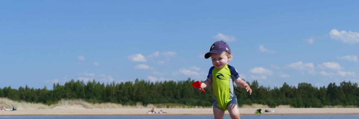 En dag på Finlands vackraste strand