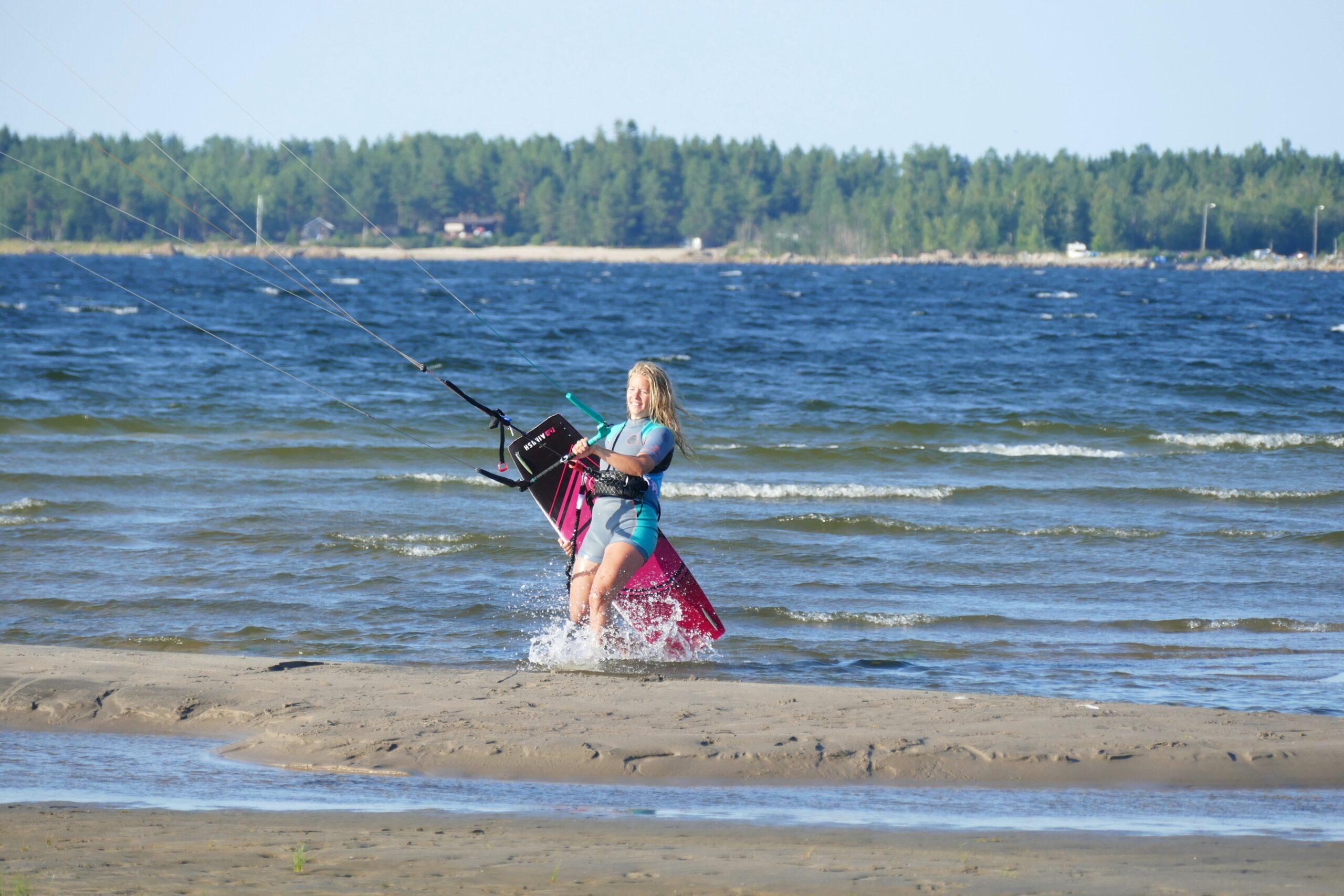 kitesurfing efter graviditet