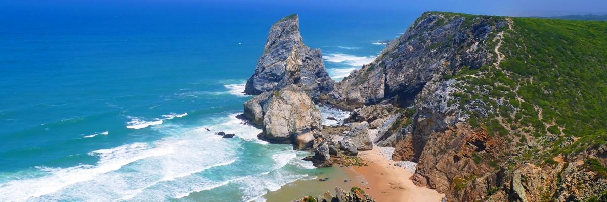 Vandring i Portugal: kort dagstur till magiska Praia da Ursa
