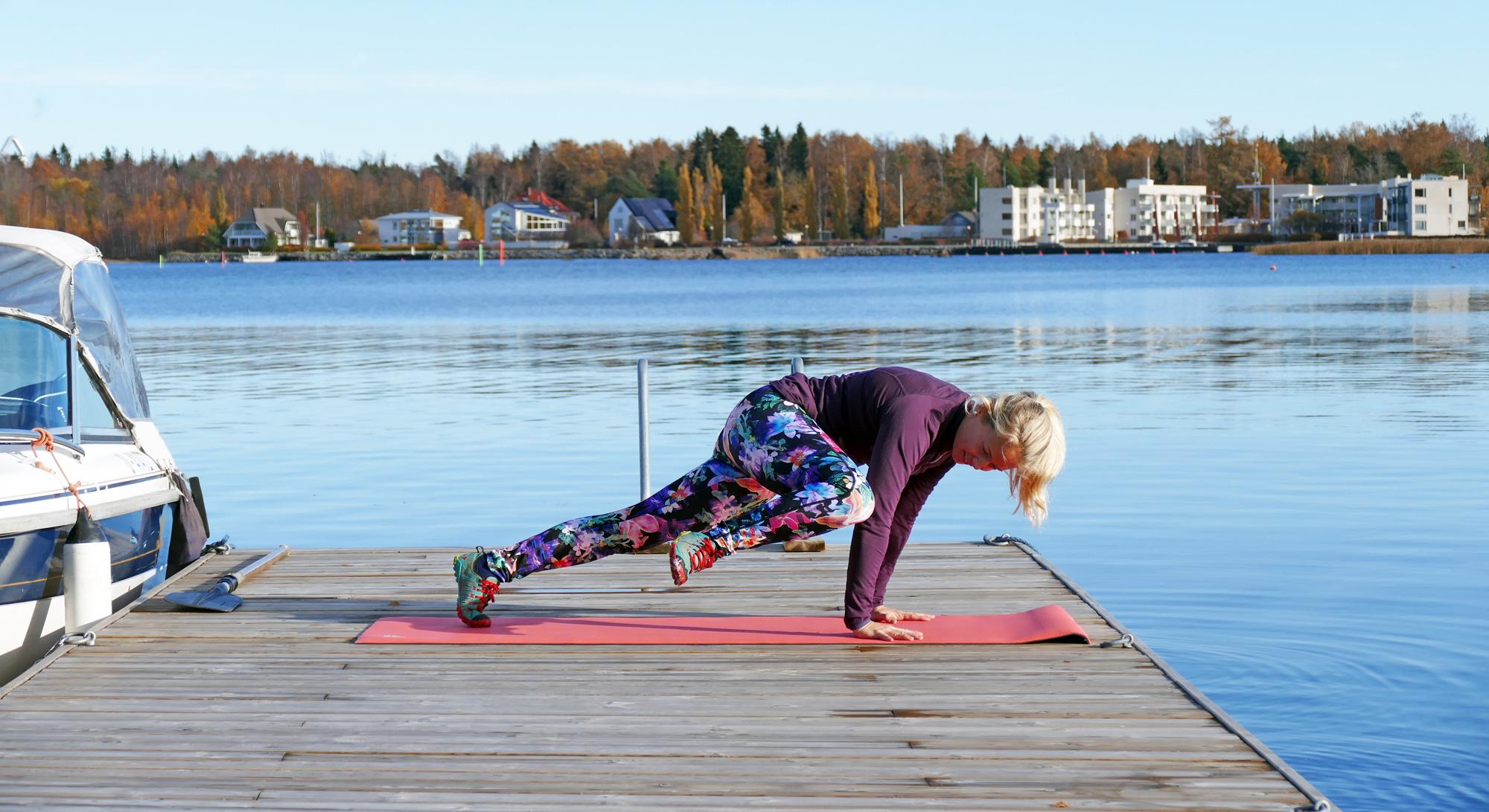 Hunden till plankdrag: favoritövning för corestyrka & rörlighet