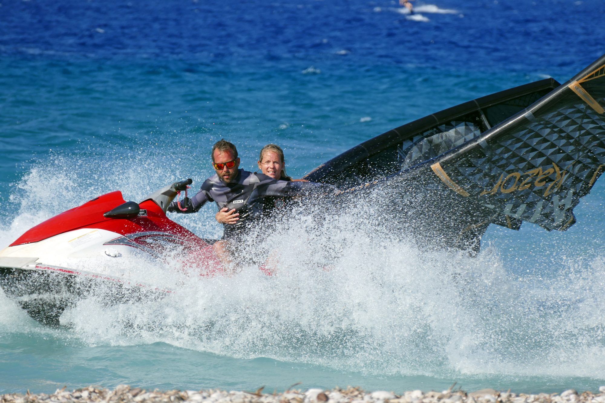 kremasti kitesurfing