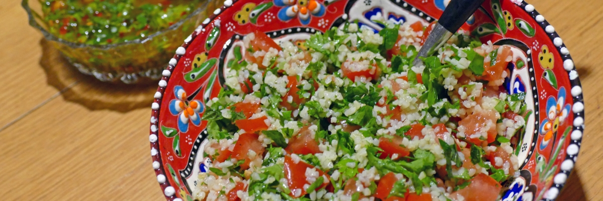 Recept på tabbouleh: persiljesallad som tillbehör till det mesta