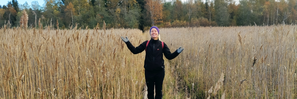 Vandra i skogen: att se fram emot eller bli tvingad till?