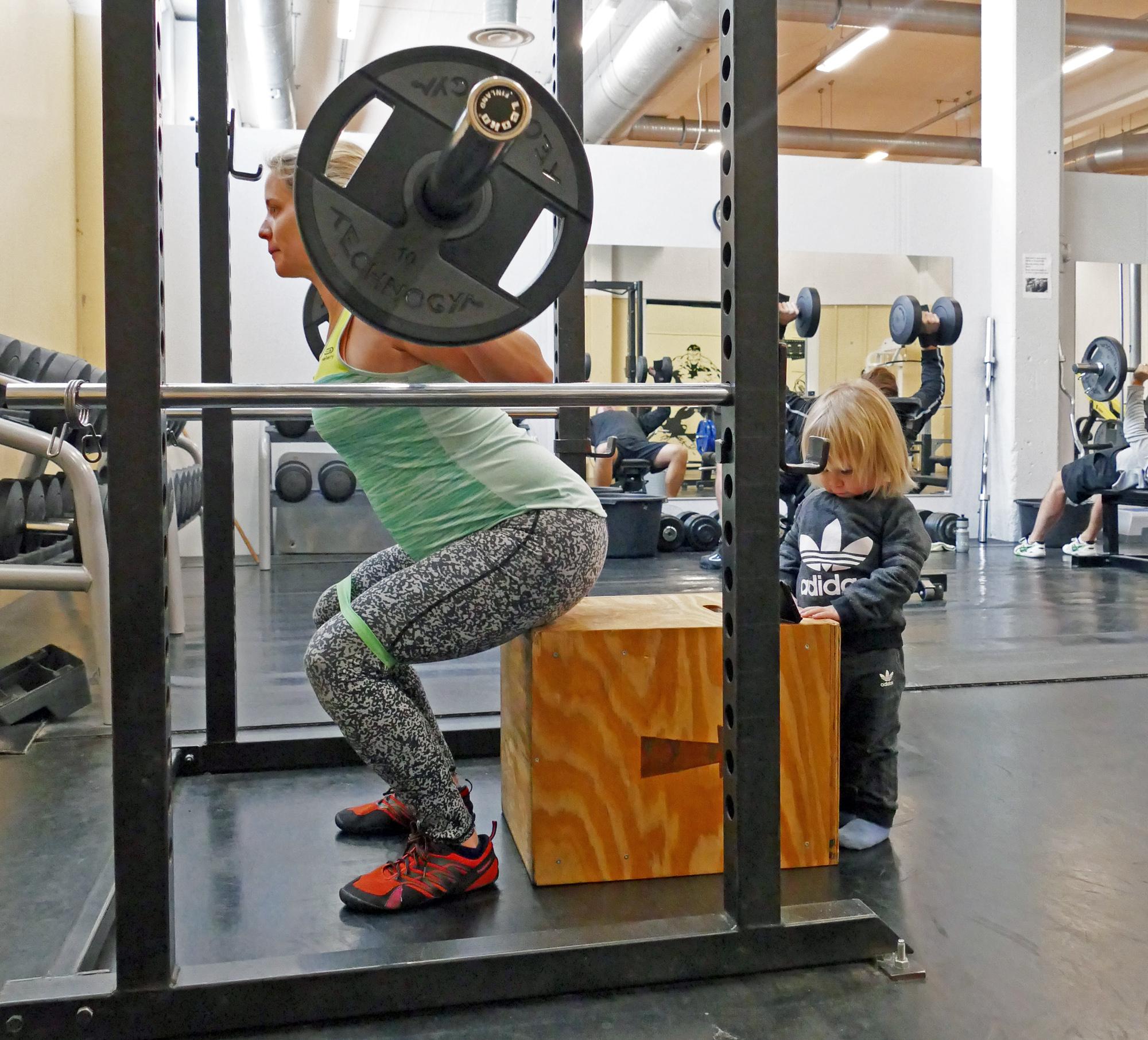 träning vid olika åldrar
