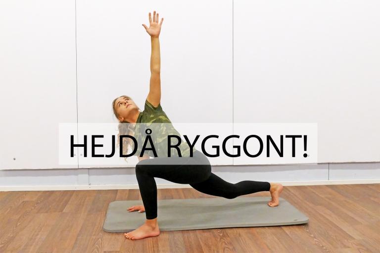 Hejdå ryggont! Träningsprogrammen för att slippa ryggvärk är klara