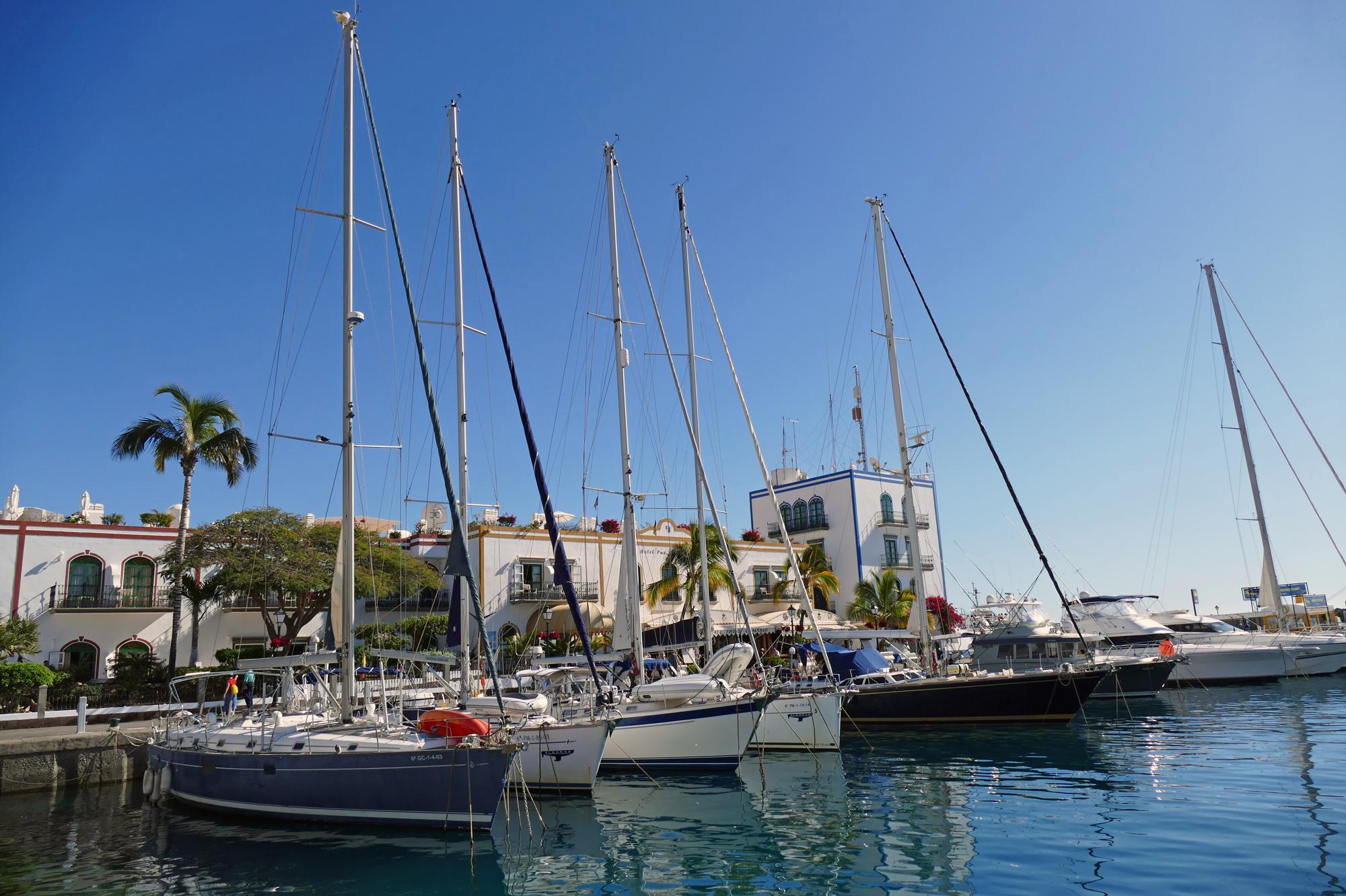 båt till puerto de mogan