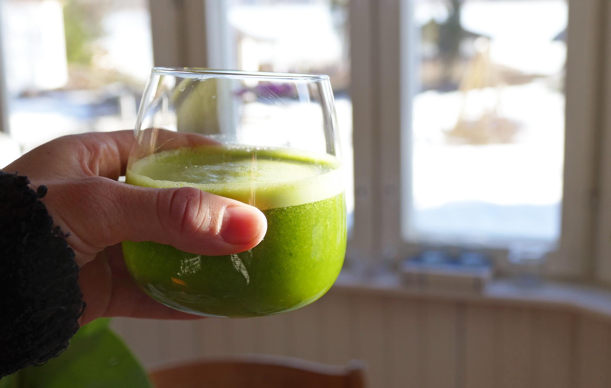 grönkålsjuice