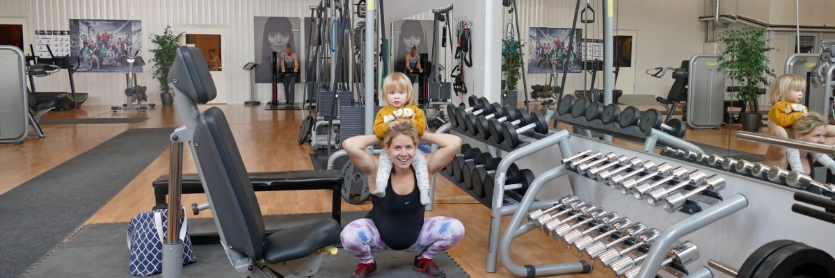 Gymprogram för tredje trimestern