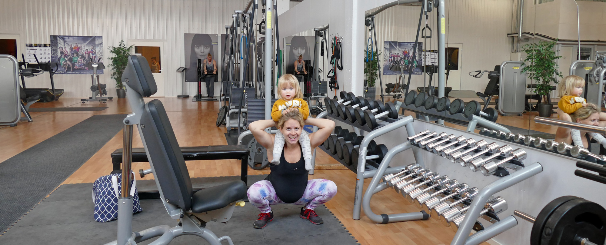 gymprogram tredje trimestern