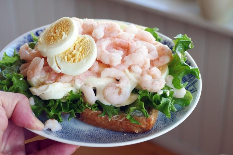 Lunchtips: Enkel men god räksmörgås