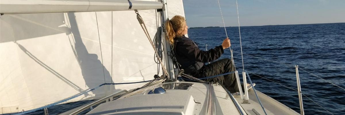 Säljes: en drömsommar med  segelbåten Fia