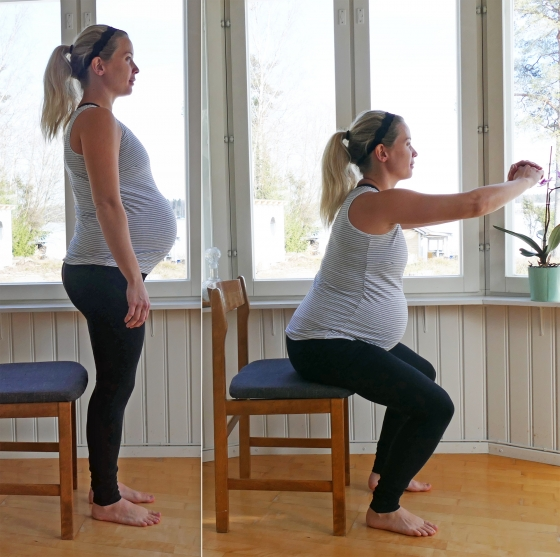 träningsprogram tredje trimestern