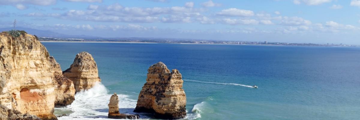 En vecka semester i Alvor på Algarve, Portugal