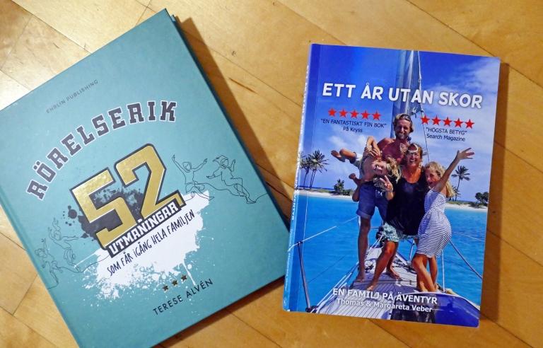Boktips: 4 böcker om träning, sömn och äventyr!
