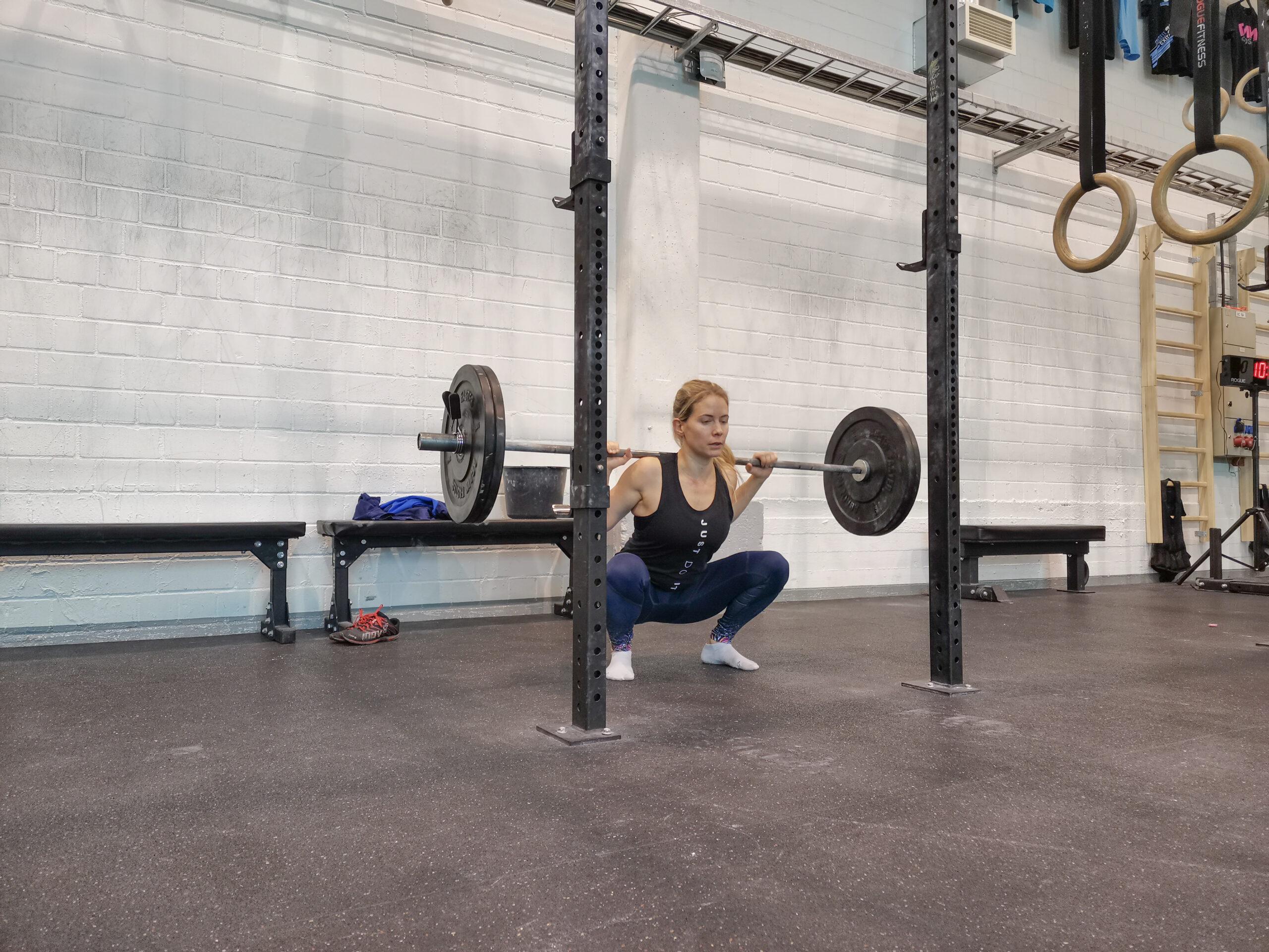 bäckenbotten crossfit styrketräning