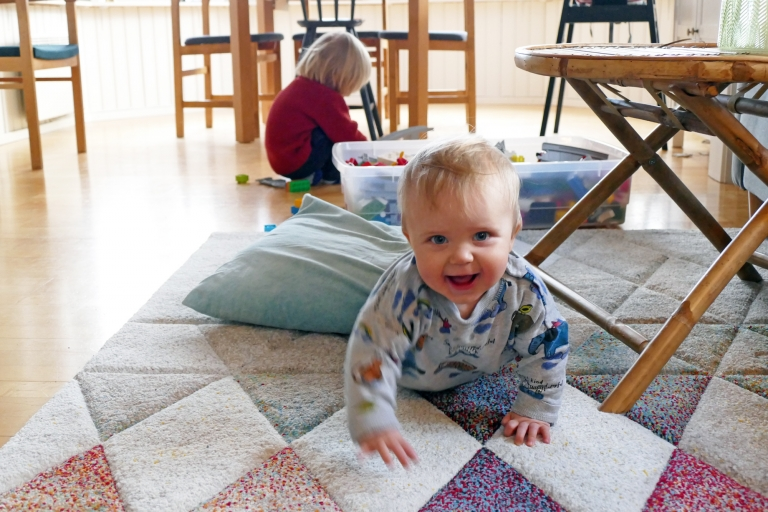 Greta 9 månader