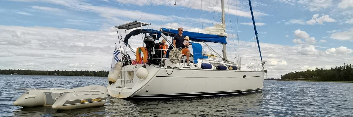 Årets seglingssemester 2020: segla i Vasa skärgård
