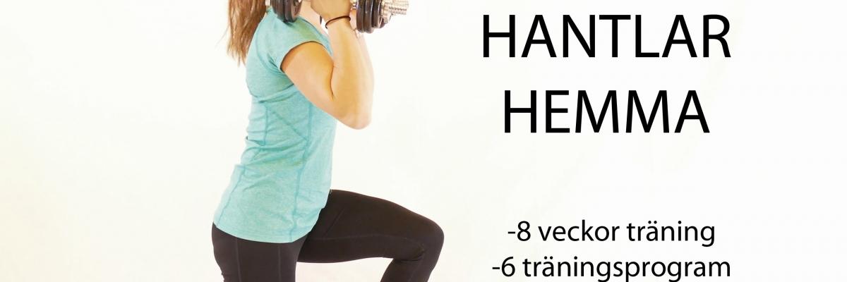 Stark med hantlar hemma: Ny serie träningsprogram