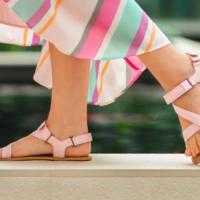 Barefoot Sandals - Be Lenka Flexi - Pink - 1