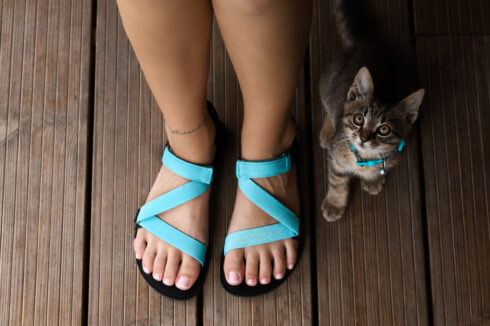 Barefoot Sandals - Be Lenka Flexi - Turquoise - 3